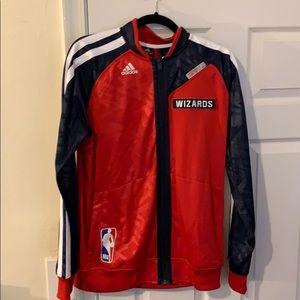 NWT Adidas Mens Washington Wizards Jacket Medium
